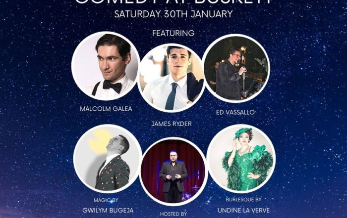 Comedy and Magic in Malta at Chateau Buskett